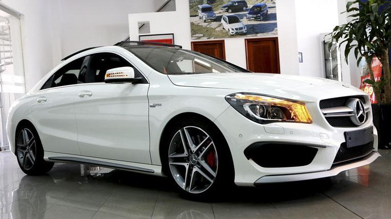 Cận cảnh Mercedes-Benz CLA vừa ra mắt