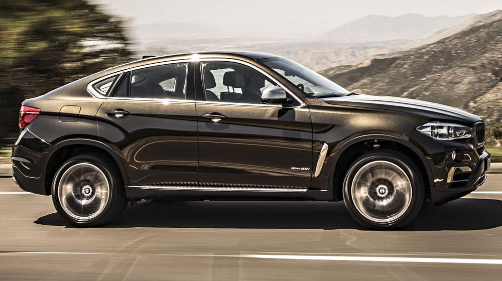 Cái nhìn đầu tiên về BMW X6 2015