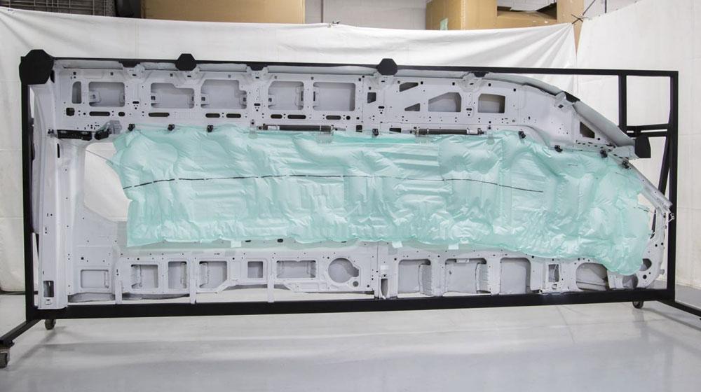 ford airbag Ford trang bị túi khí ô tô dài gần 5 mét