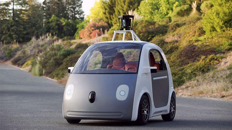 google self driving car Xuất hiện ôtô tự lái của Goole :hông phanh, không vô lăng
