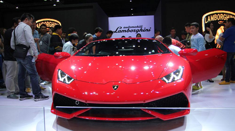 Lamborghini Huracan đã rất gần Việt Nam