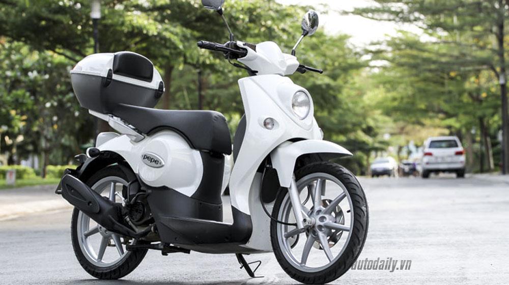 Xe tay ga 50cc, giá rẻ sắp ra mắt tại Hà Nội