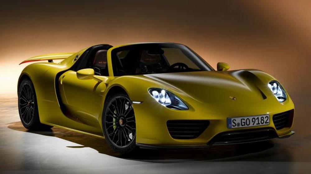 Lỗi cầu sau, Porsche thu hồi siêu xe 918 Spyder