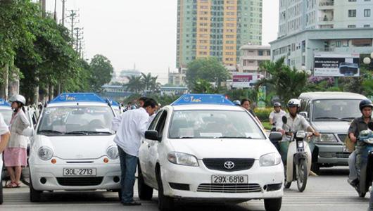 Taxi sắp phải in hóa đơn tính tiền