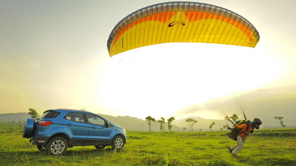 Ford Ecosport Paragliding