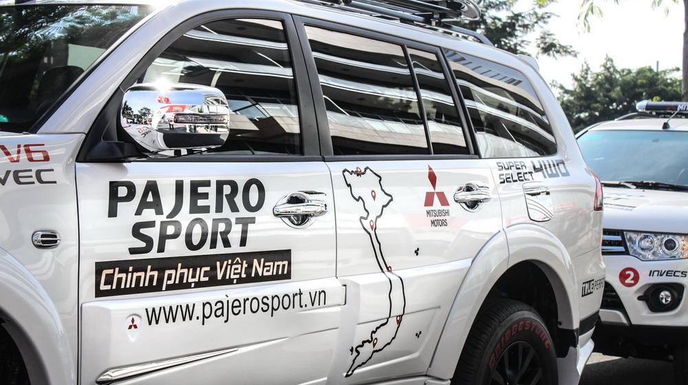 Khởi động hành trình xuyên Việt cùng Mitsubishi Pajero Sport - 3