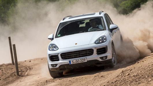 Porsche Cayenne 2015 - khi nhà giàu leo núi