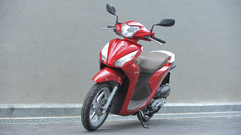Cận cảnh Honda Vision 2014 hoàn toàn mới tại Việt Nam
