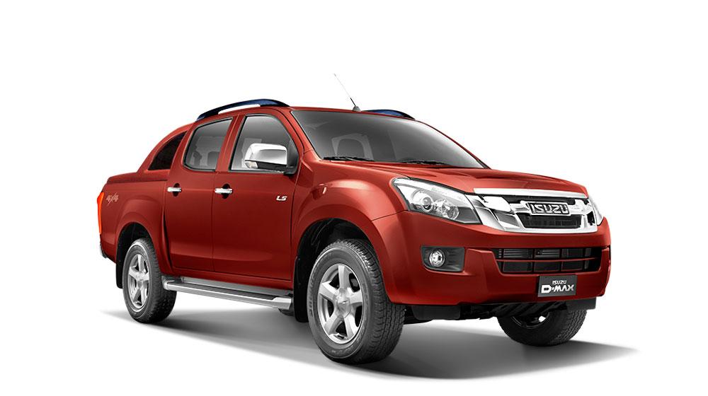 Bán tải D-MAX 2015 ra mắt thị trường Việt