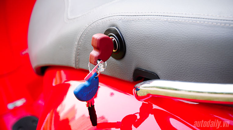 Mất chìa khóa xe Piaggio, làm thế nào?