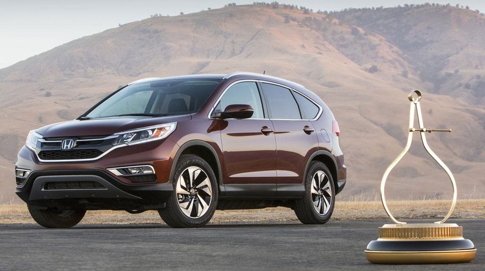 """CR-V giúp Honda """"thăng hoa"""" trên đất Mỹ"""