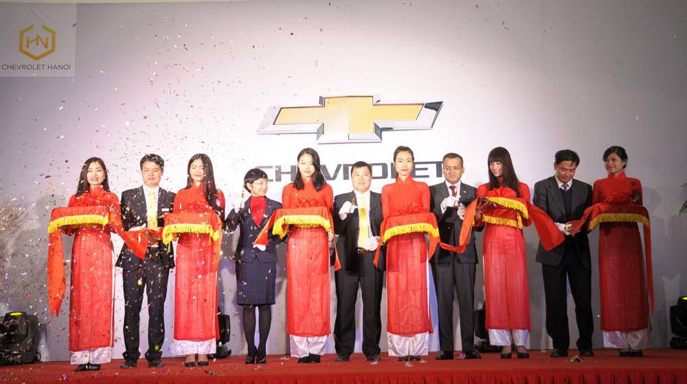 Khai trương đại lý Chevrolet hiện đại nhất Việt Nam