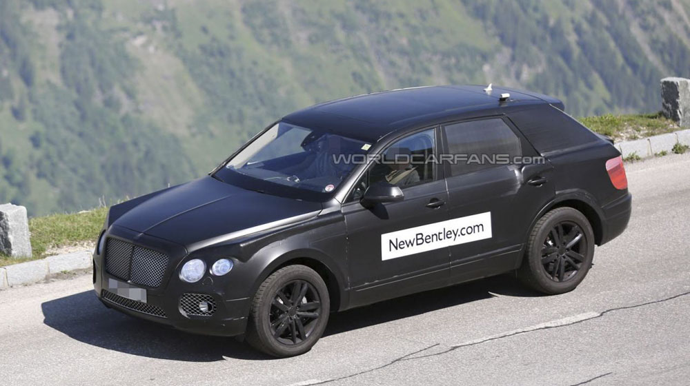 Bentley tự tin vào sự tăng trưởng của dòng SUV
