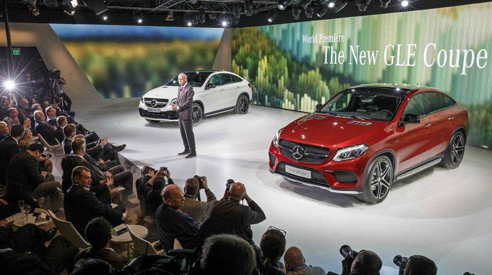 """Mercedes-Benz """"tấn công"""" triển lãm ôtô Detroit 2015"""