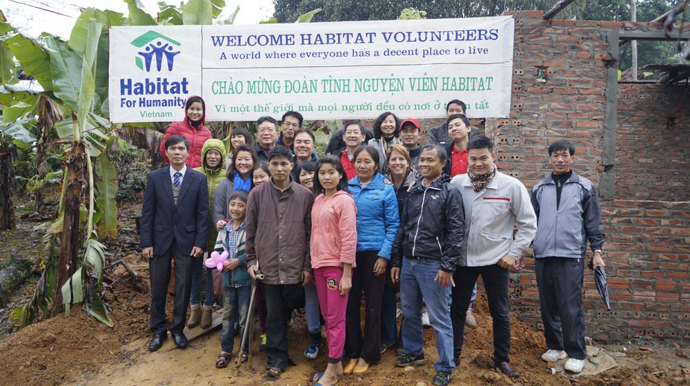 Nissan Việt Nam chung tay xây nhà cho hộ gia đình khó khăn