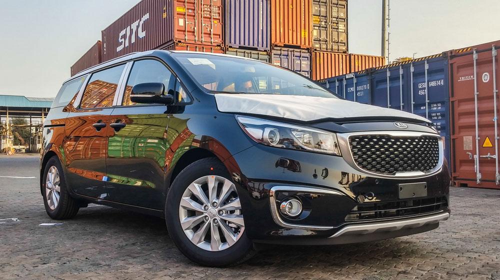 Dòng xe MPV cở lớn Kia Sedona ra mắt Việt Nam