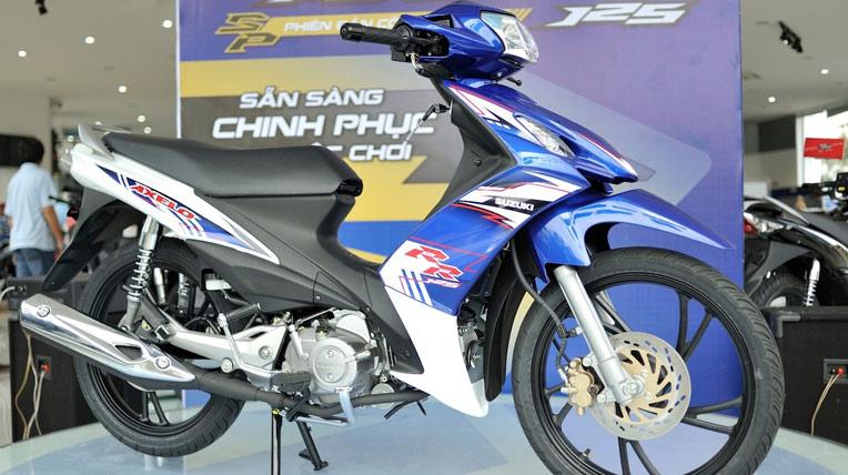 Suzuki bán được bao nhiêu xe côn tay tại Việt Nam?