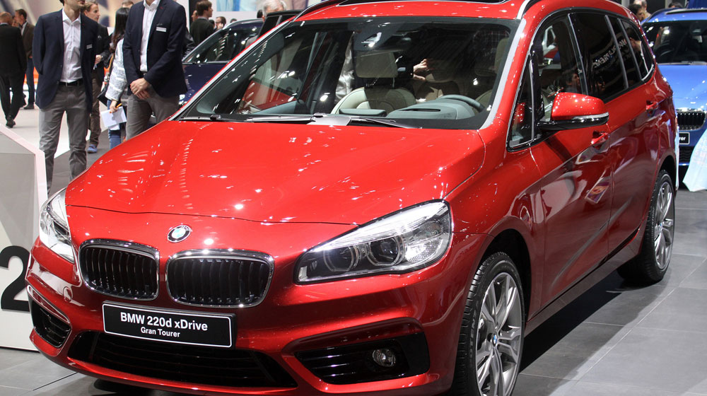 Cận cảnh xe gia đình 7 chỗ BMW 2-Series Gran Tourer