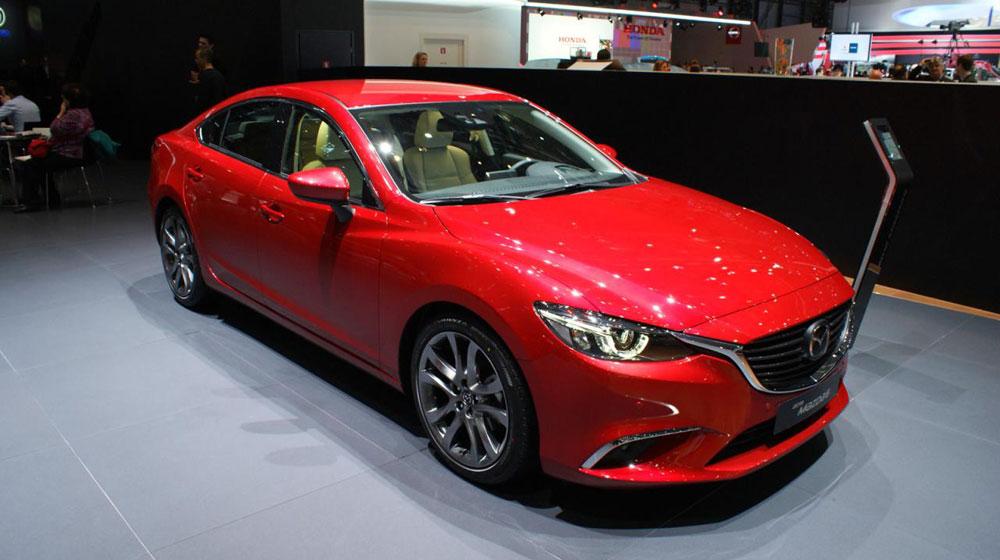 Phiên bản cải tiến của mẫu xe Mazda6