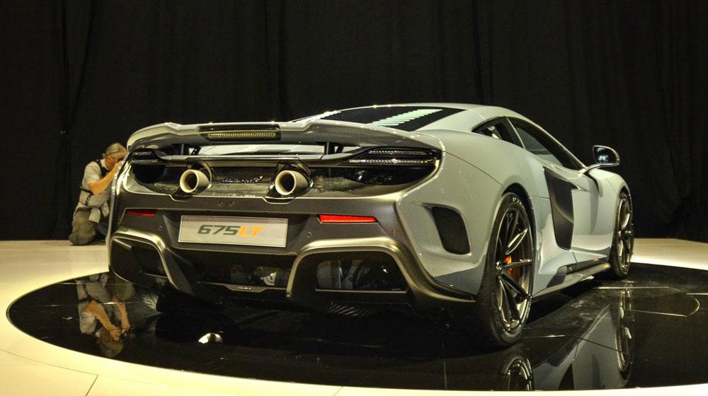 mclaren 675 lt2 McLaren trình làng siêu xe mạnh nhất, nhẹ nhất của mình   McLaren 675LT