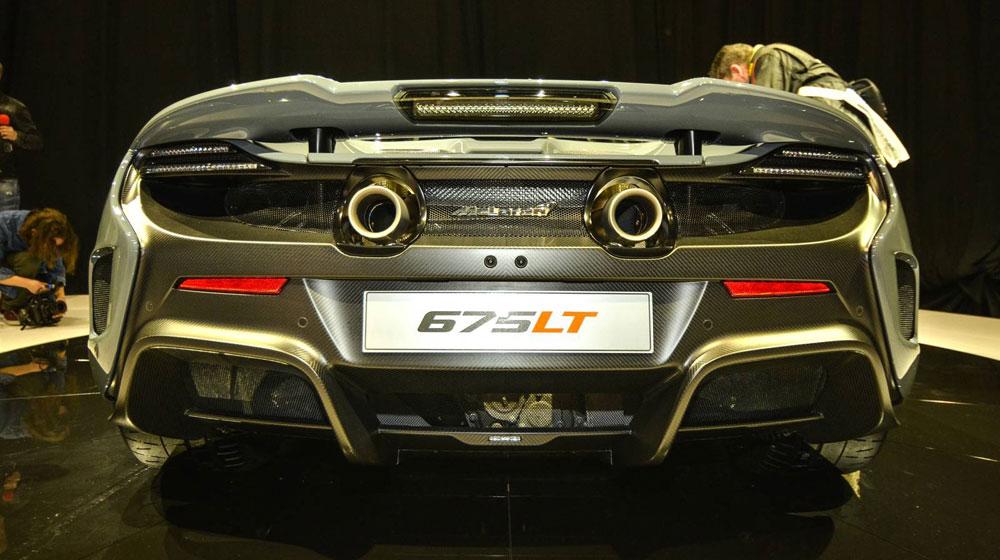 mclaren 675 lt9 McLaren trình làng siêu xe mạnh nhất, nhẹ nhất của mình   McLaren 675LT