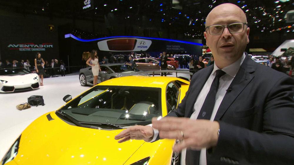Những thay đổi quan trọng trên Lamborghini Aventador Superveloce