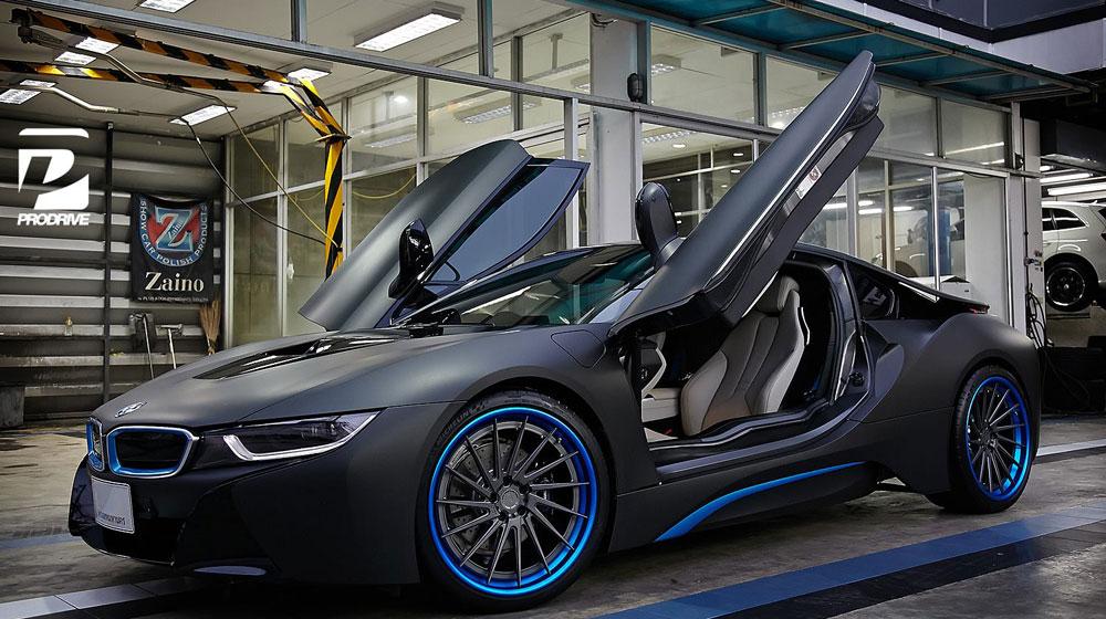 BMW i8 6 Chiêm ngưỡng BMW i8 phối màu đẹp tuyệt từ ADV.1