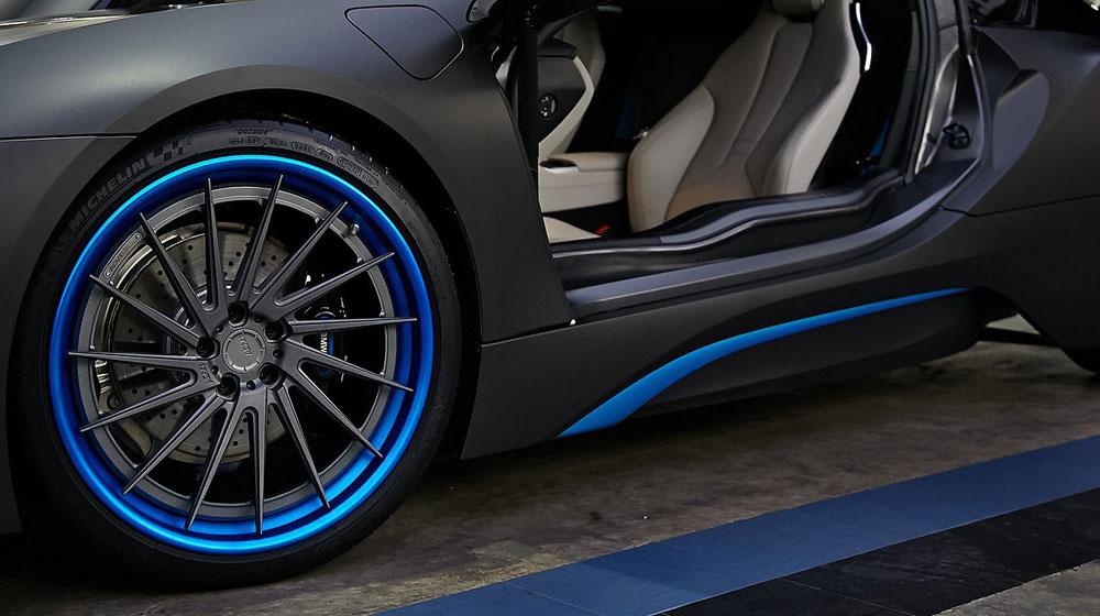 bmw i8 5 Chiêm ngưỡng BMW i8 phối màu đẹp tuyệt từ ADV.1