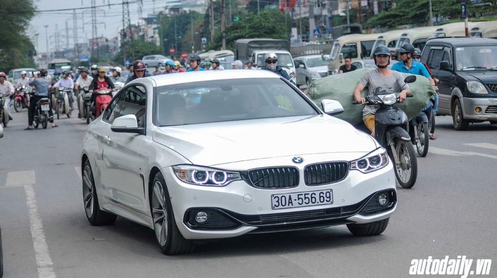 BMW 4-Series Coupe ngầu hơn với bodykit M Performance tại Hà Nội
