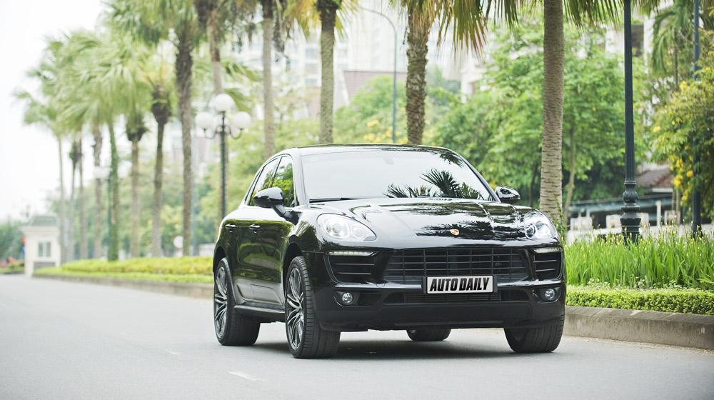 Porsche Macan: Chiếc SUV hạng sang đầy tiện nghi