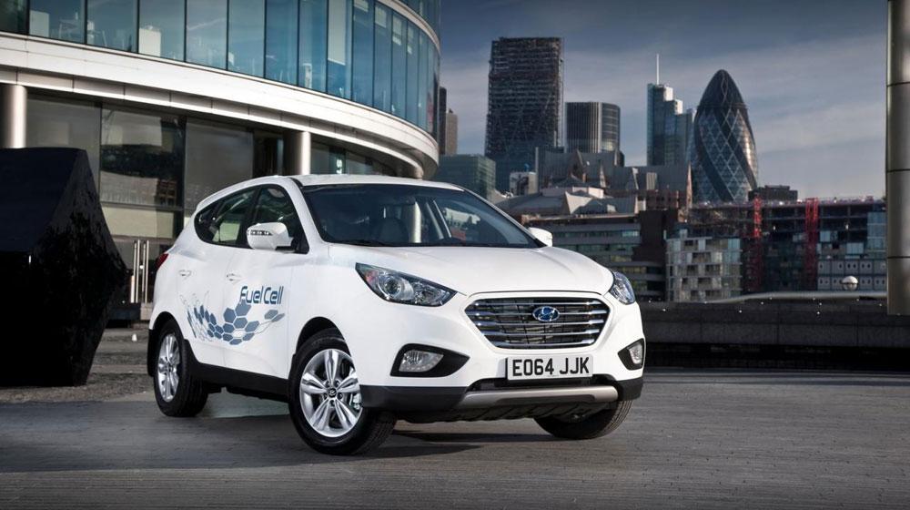Hyundai Tucson chạy pin nhiên liệu giá hơn 80.000 USD