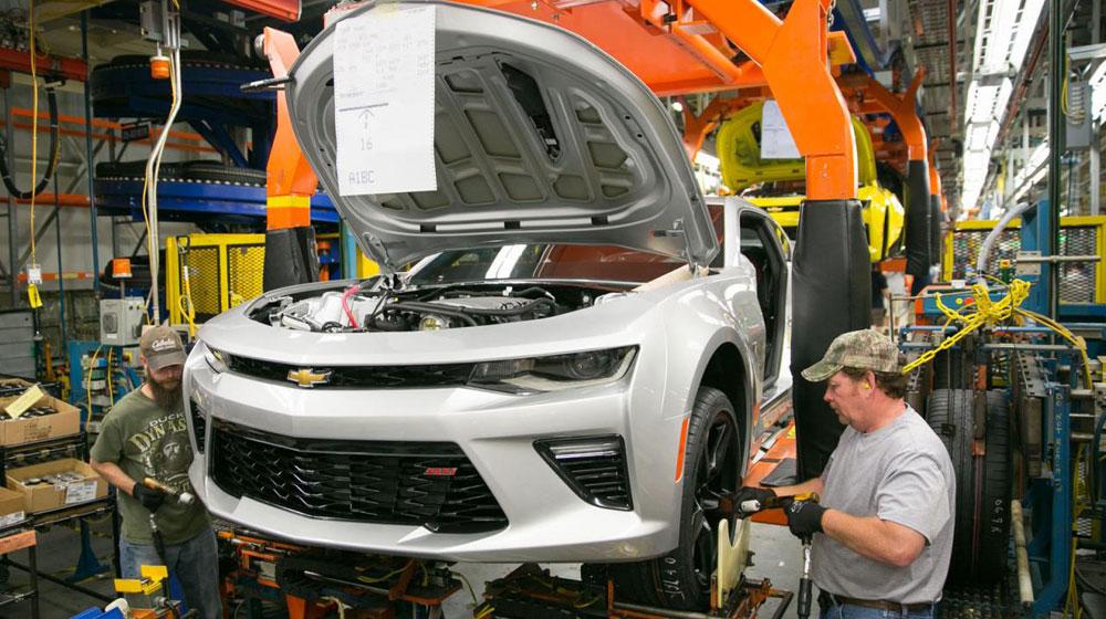 GM đầu tư 175 triệu USD để sản xuất Chevrolet Camaro