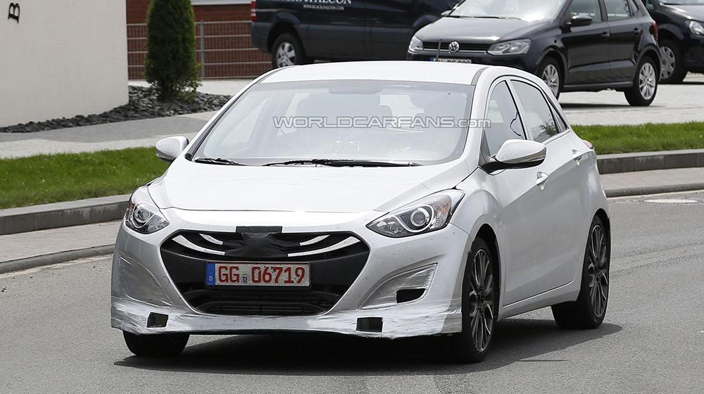 Hyundai i30 N lộ diện trên đường thử