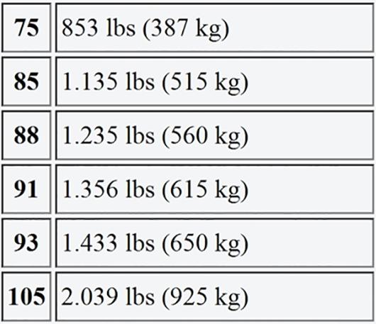 Ý nghĩa của các thông số in trên lốp xe
