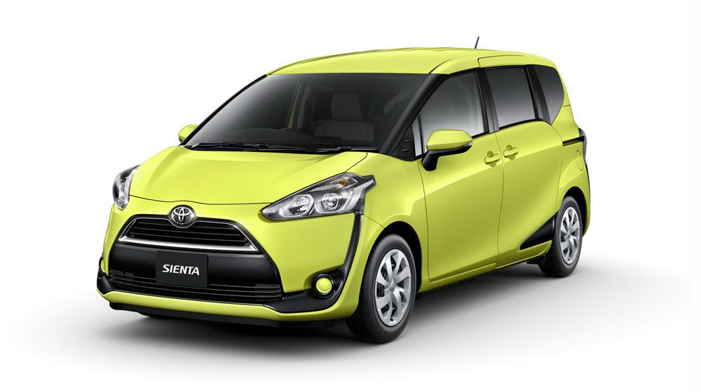 Toyota Sienta: Minivan kiểu mới