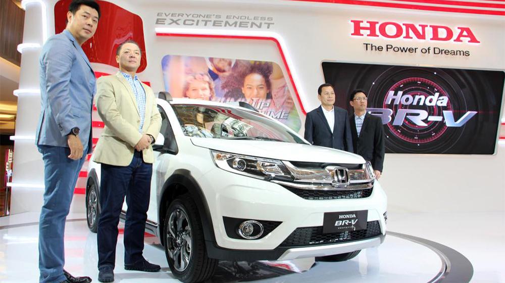 Honda BR_V Dòng xe 7 chỗ của HOnda vừa mới trình làng