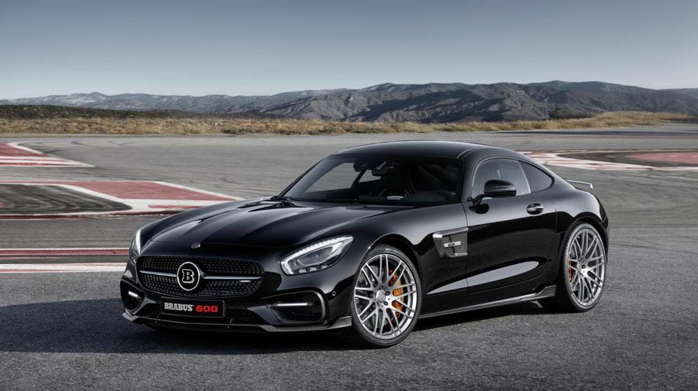 Mercedes-AMG GT S 600 mã lực sẵn sàng đến Frankfurt