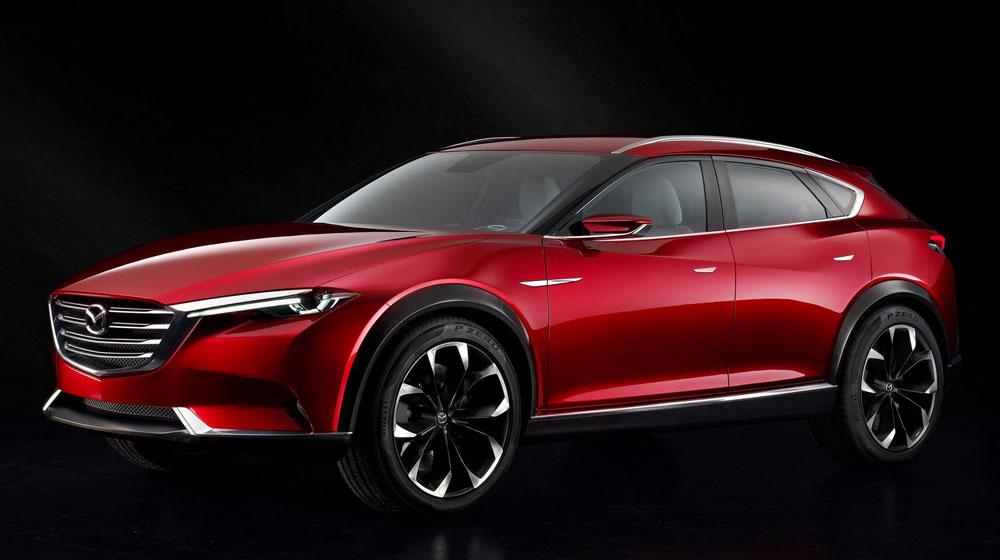 Mazda KOERU concept: CX-7 trong tương lai