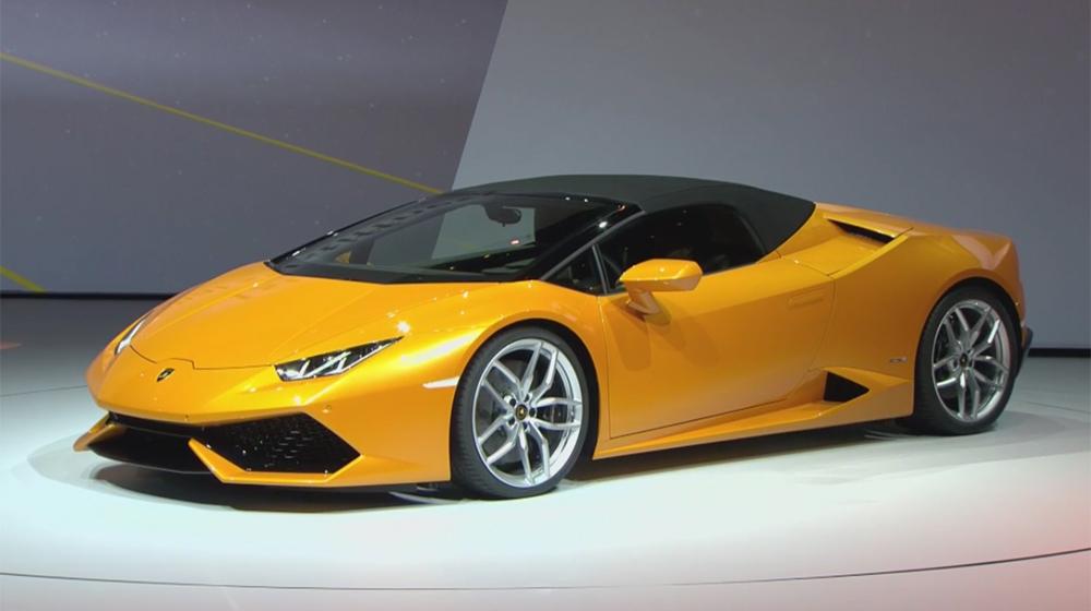 Lamborghini Huracan Spyder chính thức lộ diện, giá 210.780 USD