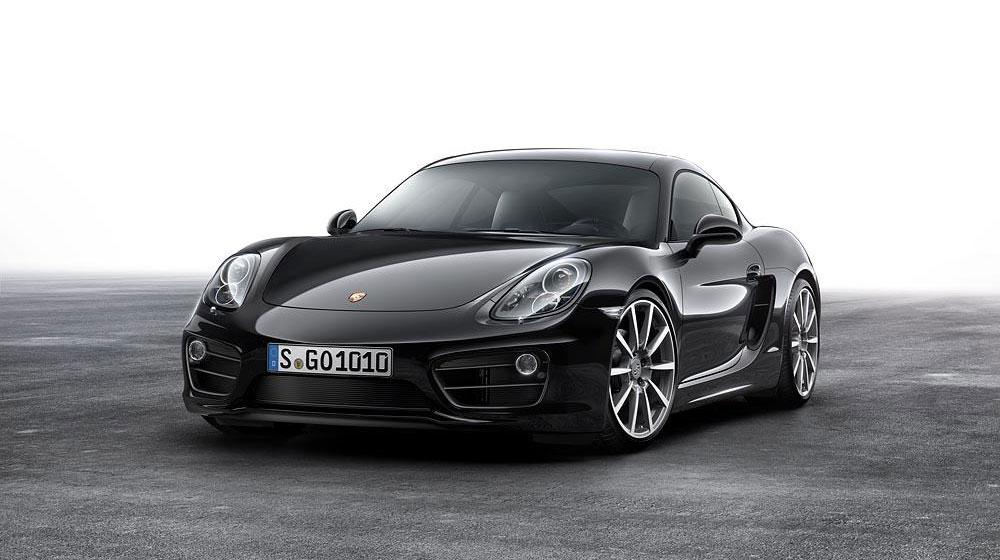 Porsche Cayman Black Edition chính thức trình làng