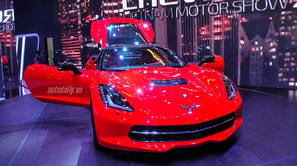 """Chi tiết """"hàng khủng"""" Chevrolet Corvette Stingray Coupe tại Việt Nam"""