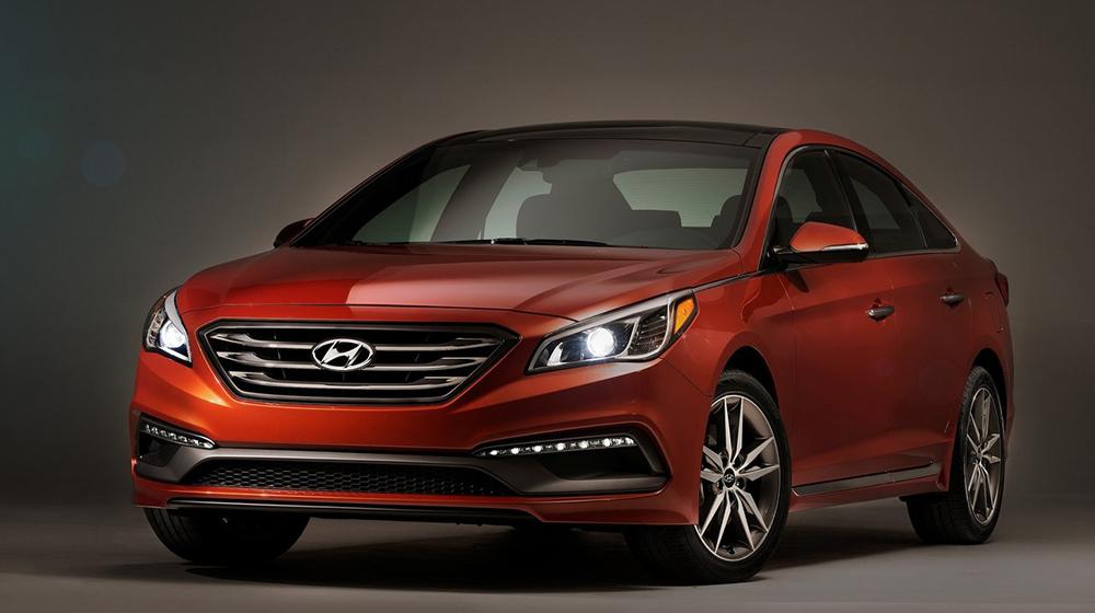 Hyundai Sonata là xe bán chạy nhất tại Hàn Quốc năm 2015