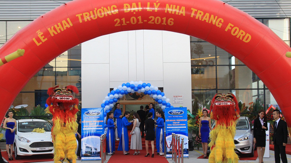 Nha Trang Ford - Đại lý 5S của Ford Việt Nam chính thức khai trương