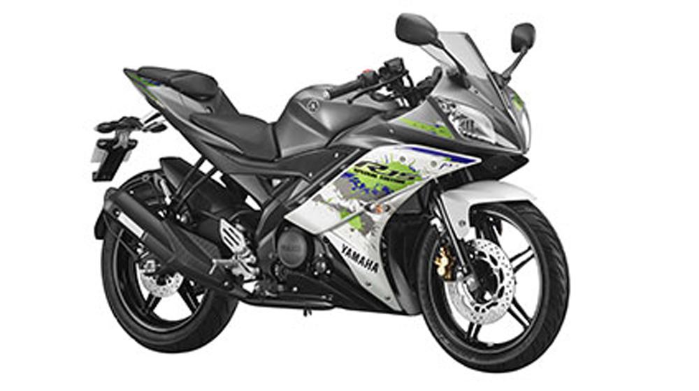 Yamaha R15 thêm màu mới, giá tăng nhẹ