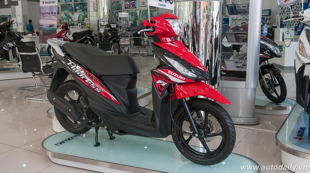 Suzuki Address 110 Fi và những điểm nổi bật