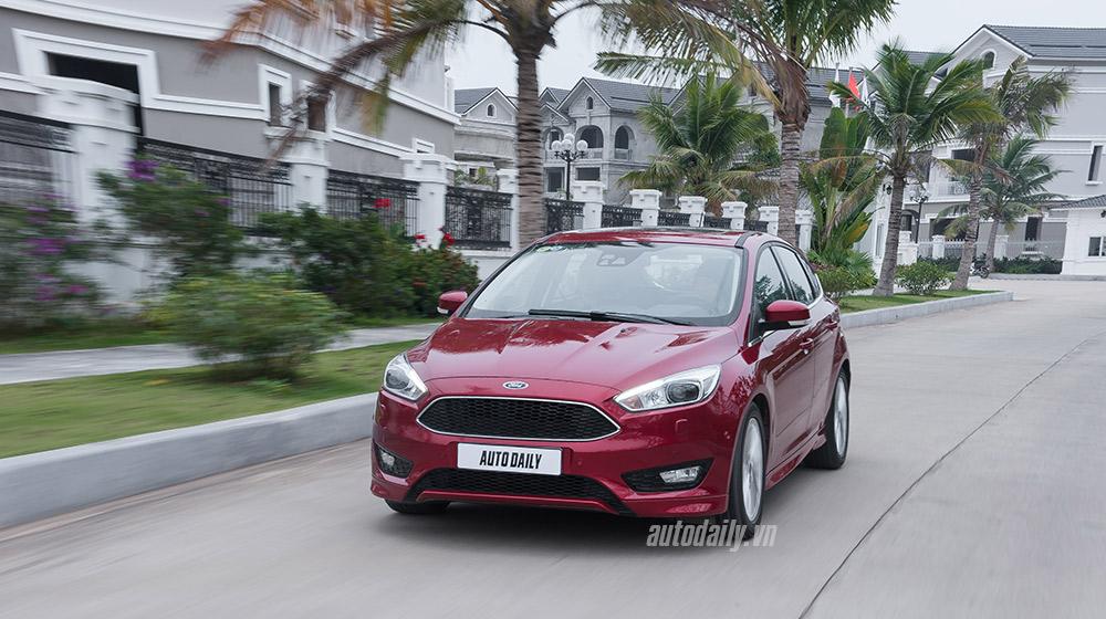 Tìm hiểu Hệ thống phanh chủ động trên Ford Focus mới