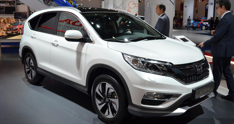 Honda CR-V 2017 sẽ tập trung vào công nghệ