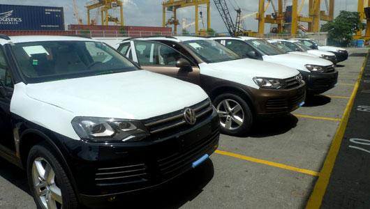 Quý I, ô tô nhập khẩu giảm sâu