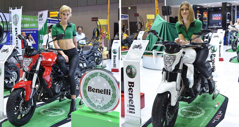 Dàn xe Benelli khuấy động Triển lãm mô-tô, xe máy Việt Nam 2016