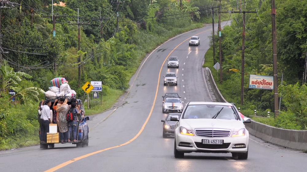 MBFC Caravan, ngày 2 – Khi người và xe cùng thăng hoa trên đất Thái